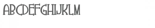 zp fruitiepie serif bold Font UPPERCASE