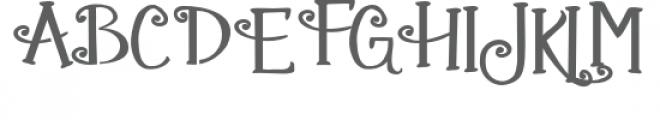 zp gingerbread cake stencil Font UPPERCASE