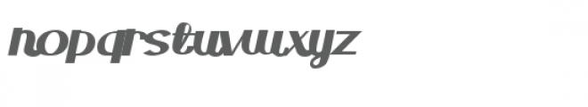 zp hughes industry script Font LOWERCASE