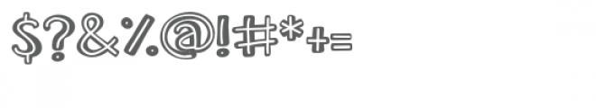 zp juvenile inline Font OTHER CHARS