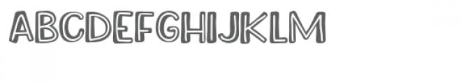 zp juvenile inline Font UPPERCASE