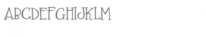zp kazachi Font UPPERCASE