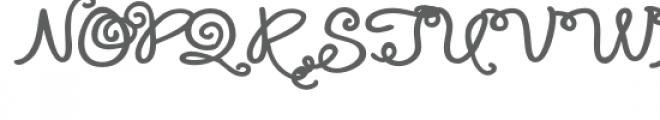 zp los tigres fancy Font UPPERCASE