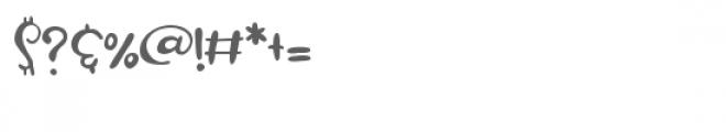 zp malarkey Font OTHER CHARS