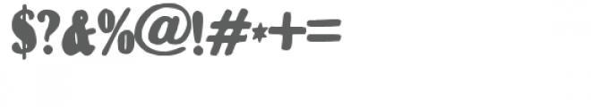 zp milkshake Font OTHER CHARS