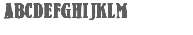 zp milkshake Font UPPERCASE