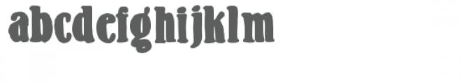 zp milkshake Font LOWERCASE