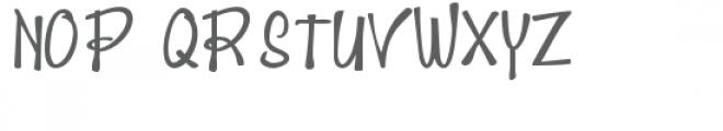 zp mind buster Font UPPERCASE