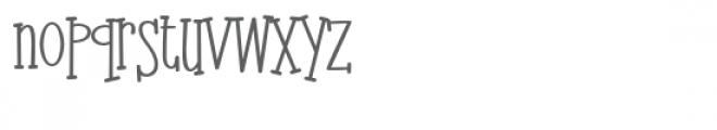 zp neikping Font LOWERCASE