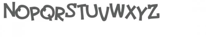 zp peabody bounce Font UPPERCASE