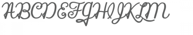 zp silent night bold Font UPPERCASE