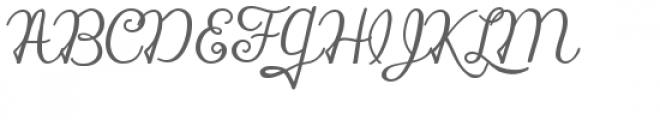 zp silent night Font UPPERCASE