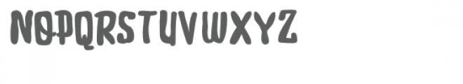 zp snickerdooscript Font UPPERCASE