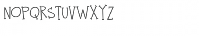 zp twinkle teeth Font UPPERCASE