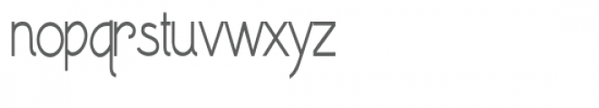 zp waltzing matilda elongated Font LOWERCASE