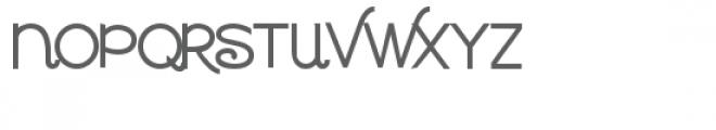 zp waltzing matilda script bold Font UPPERCASE