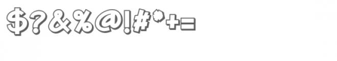 zp xavier 3d Font OTHER CHARS