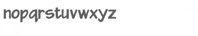 zp xavier bold Font LOWERCASE