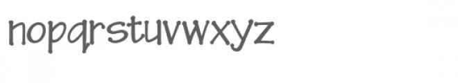 zp xavier dot Font LOWERCASE
