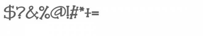 zp xavier serif Font OTHER CHARS