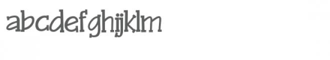 zp xavier serif Font LOWERCASE