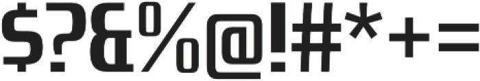 Zrnic Bold otf (700) Font OTHER CHARS