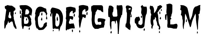 Zreaks NFI Font UPPERCASE