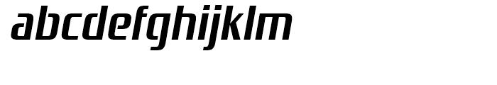 Zrnic Bold Italic Font LOWERCASE