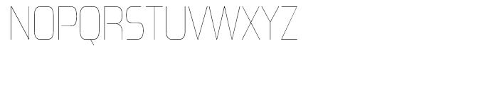 Zrnic Ultra Light Font UPPERCASE