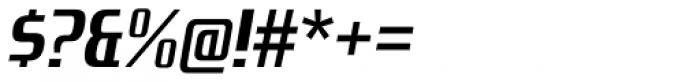 Zrnic Bold Italic Font OTHER CHARS