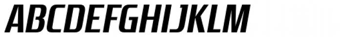Zrnic Bold Italic Font UPPERCASE