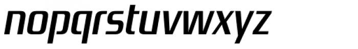 Zrnic SemiBold Italic Font LOWERCASE