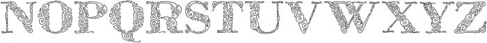ZsylettPro otf (400) Font UPPERCASE