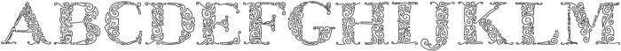 ZsylettPro otf (400) Font LOWERCASE