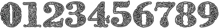 ZsylettProContour otf (400) Font OTHER CHARS