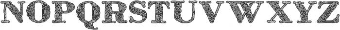 ZsylettProContour otf (400) Font UPPERCASE