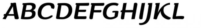 ZT Arturo Italic Font UPPERCASE