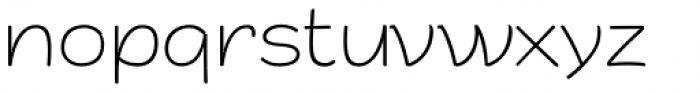 ZT Arturo Thin Font LOWERCASE