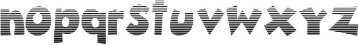 Zubilo Lined otf (400) Font LOWERCASE