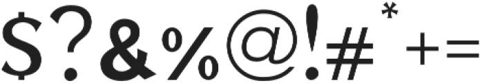 Zuijin Regular otf (400) Font OTHER CHARS