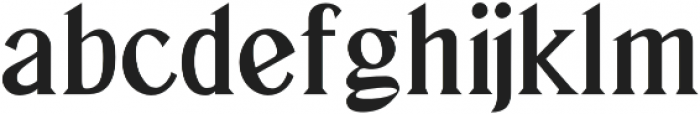 Zuijin Regular otf (400) Font LOWERCASE