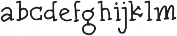 Zulfa Notes otf (400) Font LOWERCASE