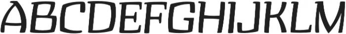 Zupiter Regular otf (400) Font UPPERCASE