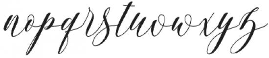 Zuraida otf (400) Font LOWERCASE