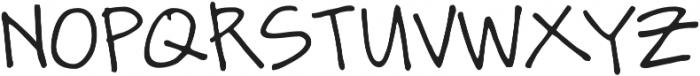 Zurdo otf (400) Font UPPERCASE