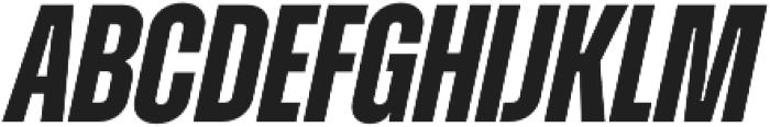 Zuume otf (700) Font UPPERCASE