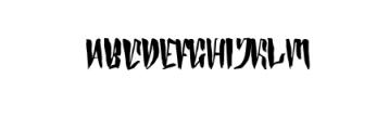 Zurich Typeface Font UPPERCASE