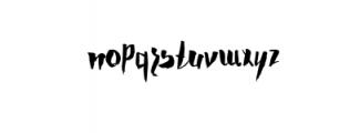 Zurich Typeface Font LOWERCASE