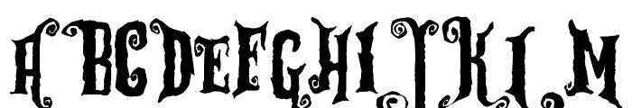 Zu Kabarett Destroy Font UPPERCASE