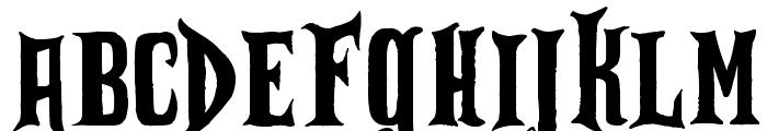Zu Kabarett Font LOWERCASE